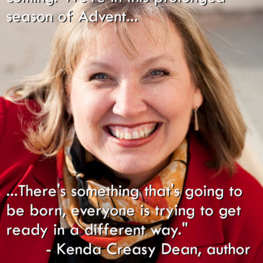From Our Conversation with Kenda Creasy-Dean, Coming Tomorrow!